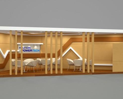 현대파워텍 홍보실 카페테리아 1안
